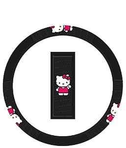 Hello Kitty Sanrio Waving Car Steering Wheel Cover from Hello Kitty
