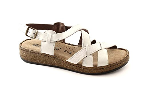 FLORANCE 22708 ghiaccio sandali donna pelle comfort 41