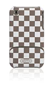 Griffin Elan Form Etch for iPhone 3G/3GS - White/Taupe