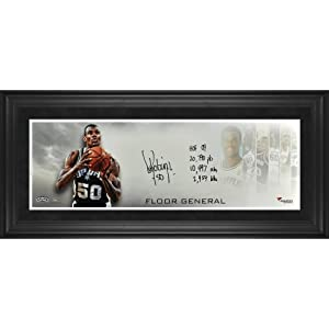 David Robinson San Antonio Spurs Framed Autographed 10
