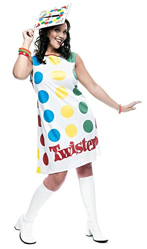 [Twister Costume Adult Board Game Ladies Dress Hat Lady Halloween Hat Small] (Twister Game Costumes)