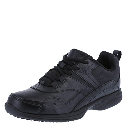 safeTstep Slip Resistant Women's Black Women's Athena Sneaker 9 Wide (Black Restaurant Shoes compare prices)