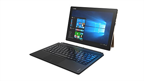 Lenovo IdeaPad Miix700-12ISK 80QL000BUS 12-Inch Full HD Laptop (Intel m7-6Y75 1.2 GHz Dual-Core Processor, 8GB RAM, 256GB SSD, Windows 10...
