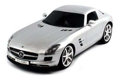 Best Price Licensed Mercedes-Benz SLS AMG Electric RC Car 1:12 RTR (Colors May Vary) Huge Size