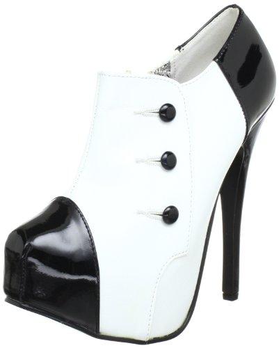 pleaser-eu-teeze-20-tee20-wb-pu-scarpe-col-tacco-donna-bianco-weiss-wht-pu-blk-pat-39