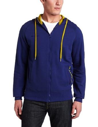 (疯抢)猛犸象Mammut Men's Blazing Hoody全有机棉全功能户外运动连帽衫蓝,$44.50