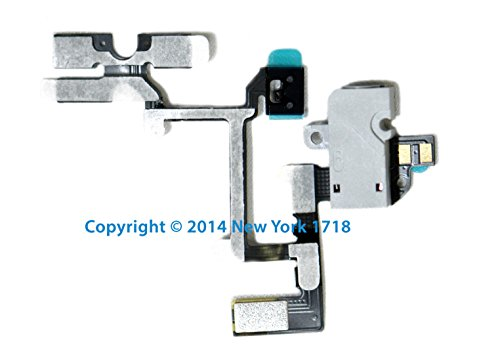 Gsm Iphone 4 Headphone Jack And Volume Control Flex Cable (White)-Ny1718