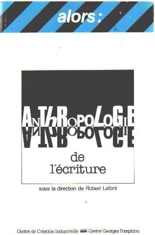 anthropologie-de-lecriture-collection-alors-french-edition