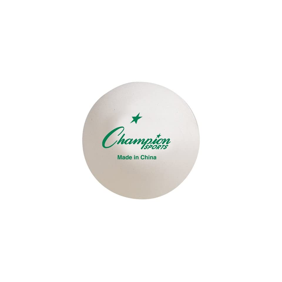 Chmapion Sports 40 mm Tournament Table Tennis Ball