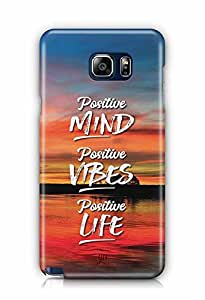 YuBingo Positive Mind Designer Mobile Case Back Cover for Samsung Galaxy Note 5