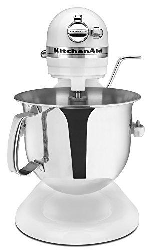 KitchenAid Professional 6000 HD KSM6573CWH Stand Mixer, 6 Quart, White (Kitchenaid Design compare prices)