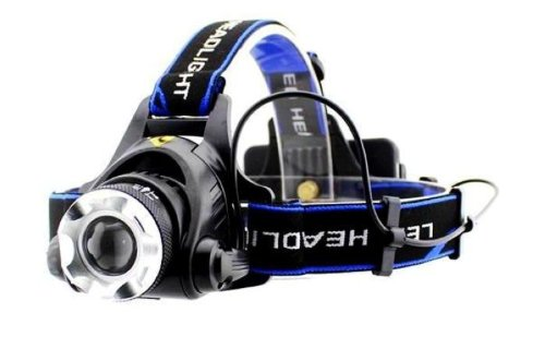Cree 568 1800Lm Lm Xm-L T6 Led Zoomable Headlamp Headlight Torch Flashlight