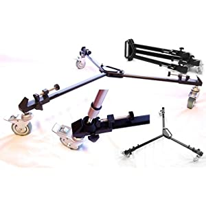 Tripod Dolly for Professional Camera/Video/Lighting Very High Quality