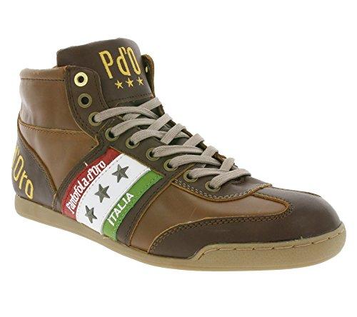 Pantofola d'Oro, Sneaker uomo marrone marrone, marrone (marrone), 42 EU / 9 US