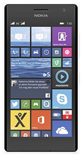 Nokia Lumia 730 Smartphone (Snapdragon 400 Prozessor, 11,9 cm (4,7 Zoll), 1,2GHz, 6,7 Megapixel Kamera, Dual-SIM, Touchscreen, Win 8.1) wei�