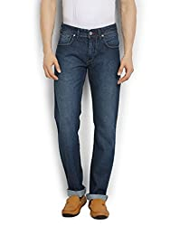 Thisrupt Mens Cotton Slim Fit Jeans (Size-32)