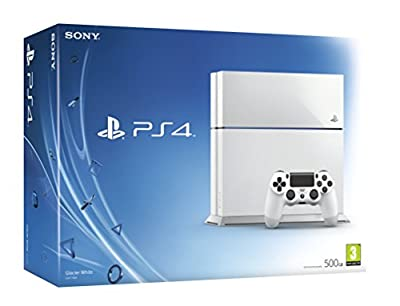 Sony PlayStation 4 Console (White)