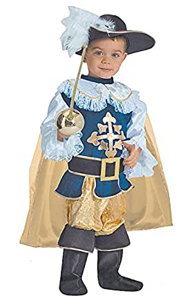 Dress up America Deluxe Musketeer Children's Costume for Boys Best Halloween
