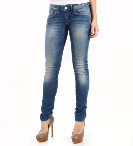 G-Star Damen Slim Jeans Refender Skinny Wmn, denim, Gr. 33/32