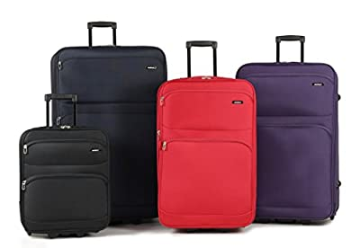 Members Topaz Lightweight Expandable Two Wheel Luggage