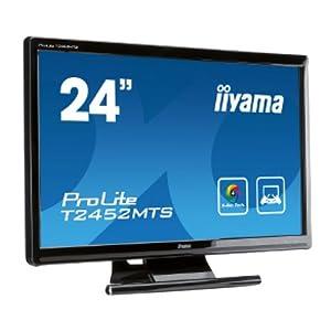 【クリックで詳細表示】iiyama マルチタッチ機能対応 23.6インチワイド液晶ディスプレイ ProLite T2452MTS