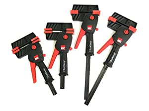 Bessey DUO-612S 4-Piece Small DuoKlamp Set