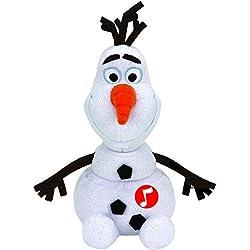 Ty 41148 Frozen Olaf Parlante, Peluche, 20 cm