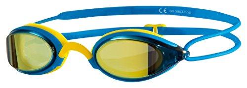 Zoggs Fusion Air Gold Mirror Blue - Gafas de natación