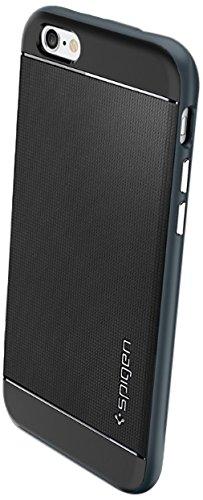 iPhone 6 ケース, Spigen® [ 二重構造 スリム フィット ] Apple iPhone 4.7 (2014) ネオ・ハイブリッド The New iPhone アイフォン6 (国内正規品) (メタル・スレート SGP11030)