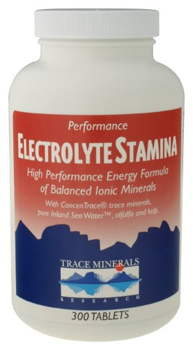 Trace Minerals Research - Electrolyte Stamina, 300 tablets