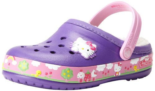 crocs-Girls-CB-Hello-Kitty-Fair-Lined-Clog