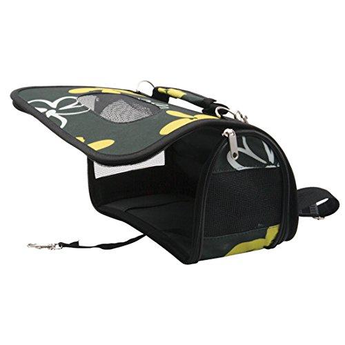 Zolux transporttasche f r nager blume kaninchen tasche for Teichfische schwarz
