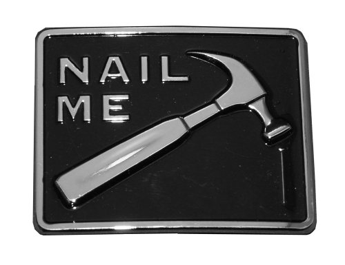 Nail Me Hammer and Nail Belt Buckle Sex Funny cool