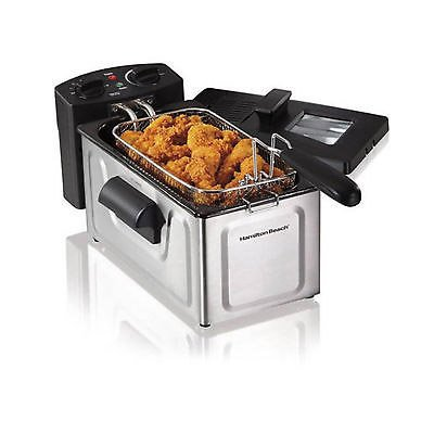 Electric Tabletop Deep Fryer Basket Restaurant (Rival Smart Pot Lid Handle compare prices)