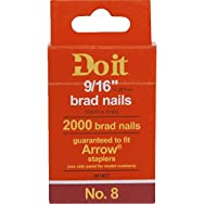 Do it Best Global Sourcing 381837 Do it Staple Brads-9/16