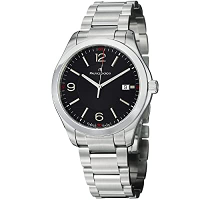Maurice Lacroix Men's MI1018-SS002-330 Miros Analog Display Analog Quartz Silver Watch