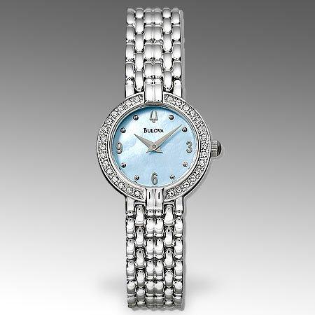 Bulova Womens Stainless Steel Watch