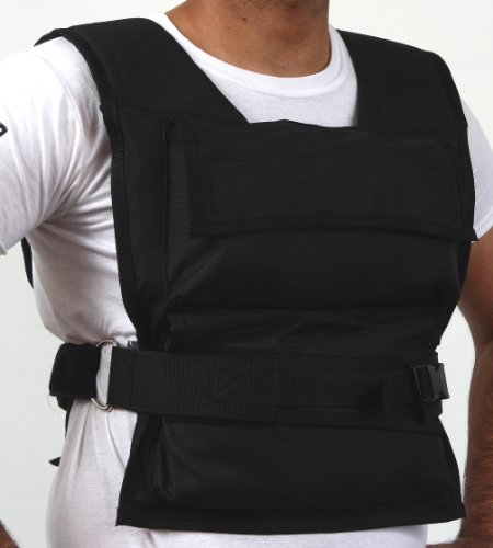 Adjustable Weighted Vest 10kg (22lbs) for Training, Running  &  Exercise
