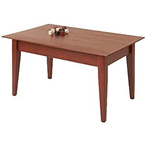 Manchester wood 36 wide cherry shaker coffee for Coffee tables 50cm wide