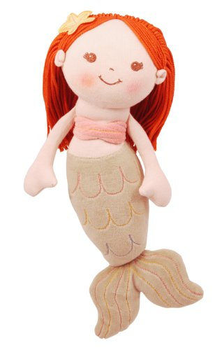 419QD4ghbrL miYim Good Earth Mermaid Girl Rag Doll