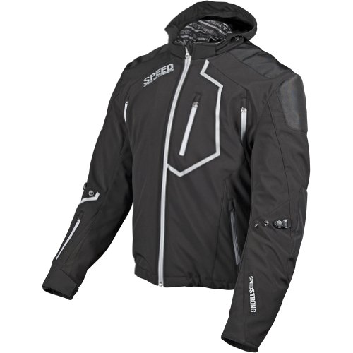 Speed and Strength Speed Strong Men's Textile Street Racing Motorcycle Jacket - Black / 2X-Large