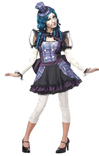 Women's Broken Doll Steampunk Victorian Costume