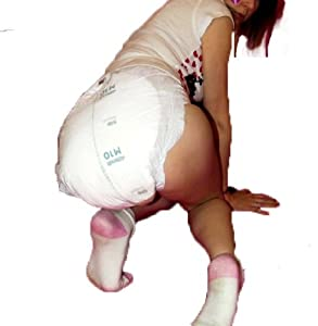 2 Diapers - Attends Slip Regular 10 (Europe import) - S/M/L - ABDL adult baby from Attends