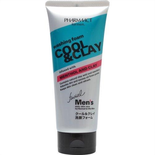ファーマアクト メンズクール&クレイ洗顔F130g