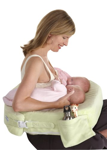 My Brest Friend Twins Plus Deluxe Nursing Pillow, Green, 0-12 Months