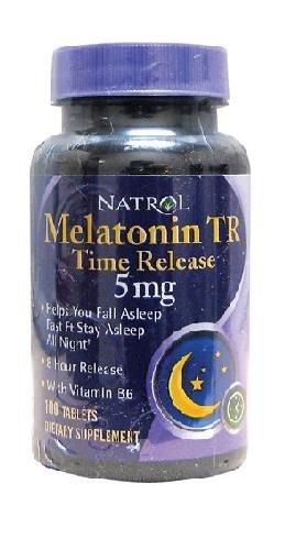 Melatonin Time Release By Natrol - 100 Tablets, 5Mg