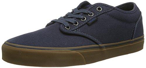 Vans Men's Atwood (12 oz Canvas) Navy/Gum Skate Shoe 6.5 Men US