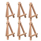 Art Alternatives Itty Easel - 5 Inch - Pack of 6 Easels