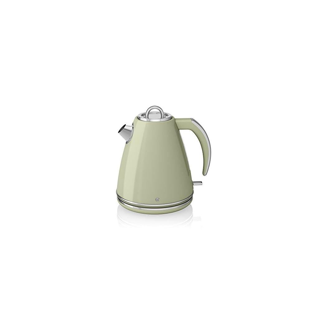 Swan Jug Kettle, 1.5 Litre, 3000 W, Green