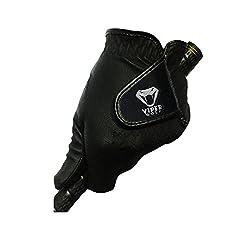 Viper Golf All Weather Golf Glove BLACK - Left Hand (Pack of 3 Gloves)